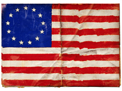 betsy ross flag with 13 stars and 13 stripes